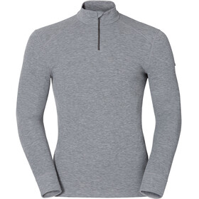 Odlo Active Originals Warm 1/2 Zip LS Shirt Men grey melange